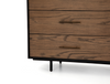 "HOUSTON Brown and Black Wood - 65"" Dresser-furniture stores regina-Hunters Furniture"