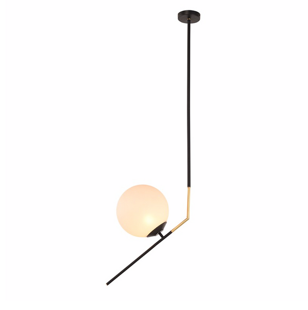 DECLAN PENDANT LIGHTING WHITE-furniture stores regina-Hunters Furniture