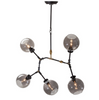 ATOM 5 PENDANT LIGHTING GREY-furniture stores regina-Hunters Furniture