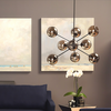 ATOM PENDANT LIGHTING GREY-furniture stores regina-Hunters Furniture