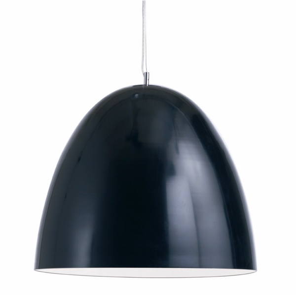 DOME PENDANT LIGHTING BLACK-furniture stores regina-Hunters Furniture