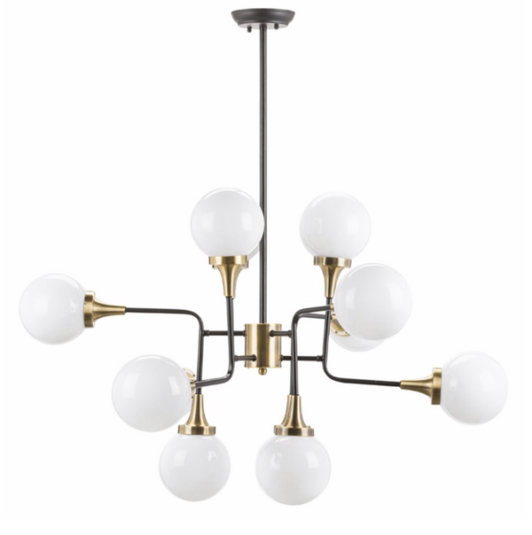 BELLA PENDANT LIGHTING WHITE-furniture stores regina-Hunters Furniture