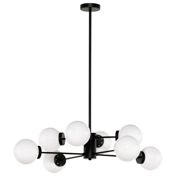 DYLAN PENDANT LIGHTING WHITE-furniture stores regina-Hunters Furniture