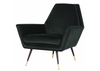 "THE HILLS Dark Green Fabric - 34.3"" Chair-furniture stores regina-Hunters Furniture"