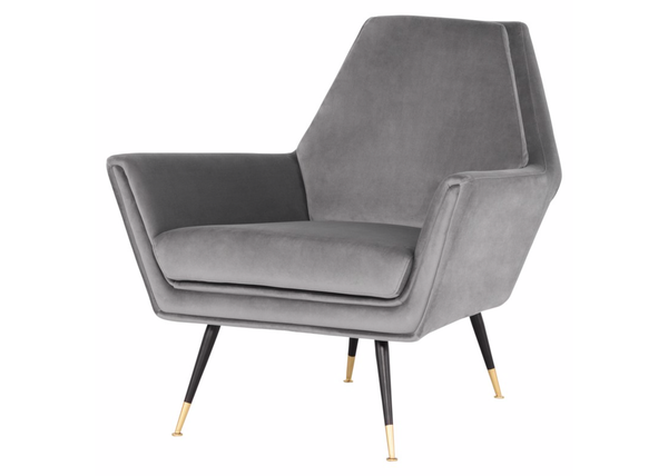 "THE HILLS Light Grey Fabric - 34.3"" Chair-furniture stores regina-Hunters Furniture"
