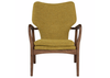 "WEST LOOP Mustard Fabric - 34.3"" Chair-furniture stores regina-Hunters Furniture"