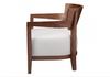 "WEST VAN White Fabric - 28"" Chair-furniture stores regina-Hunters Furniture"