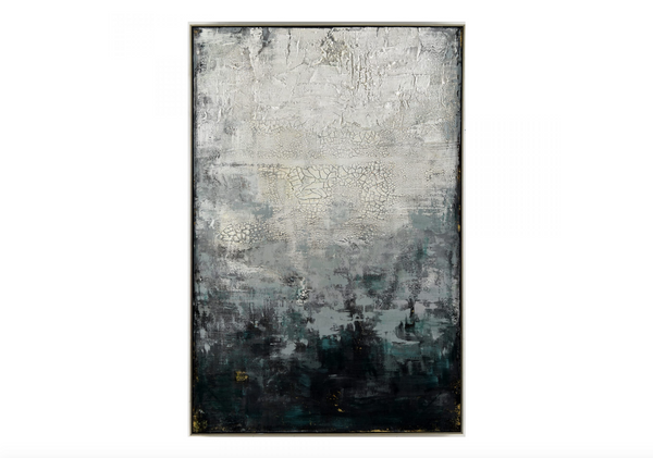 "N163 Winter Wall Acrylic Artwork Fabric - 40 x 60"" Décor-furniture stores regina-Hunters Furniture"