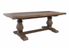 "HOUSTON Brown Wood - 114"" Dining Table-furniture stores regina-Hunters Furniture"