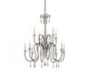 Ashland 12 Light Chandelier White Washed Driftwood-furniture stores regina-Hunters Furniture