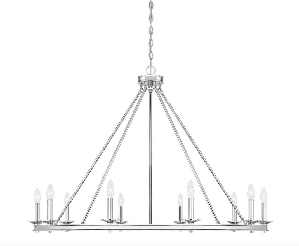 Middleton 10 Light Chandelier Polished Nickel-furniture stores regina-Hunters Furniture