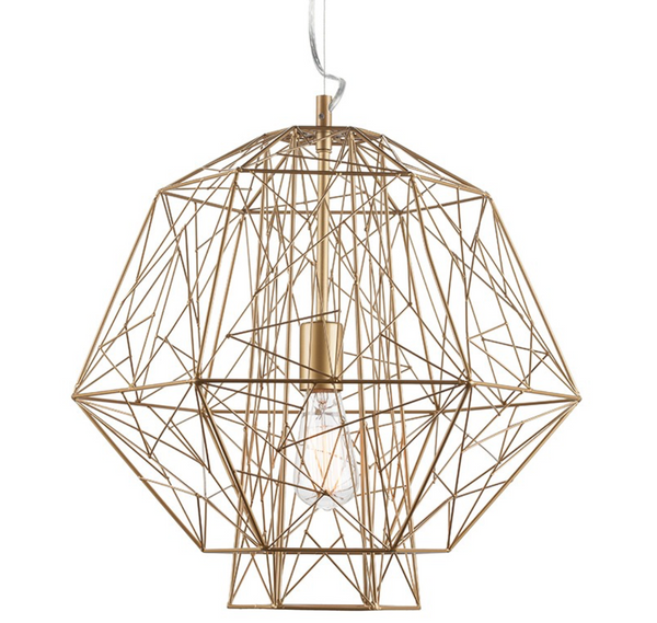 ZEUS PENDANT LIGHTING GOLD-furniture stores regina-Hunters Furniture