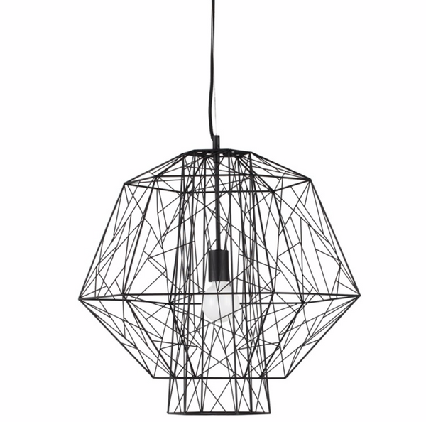 ZEUS PENDANT LIGHTING BLACK-furniture stores regina-Hunters Furniture