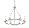 Middleton 6 Light Chandelier Satin Nickel-furniture stores regina-Hunters Furniture