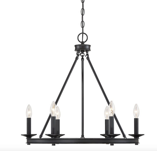 Middleton 6 Light Chandelier Classic Bronze-furniture stores regina-Hunters Furniture