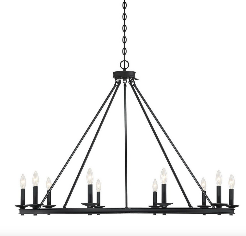 Middleton 10 Light Chandelier Classic Bronze-furniture stores regina-Hunters Furniture