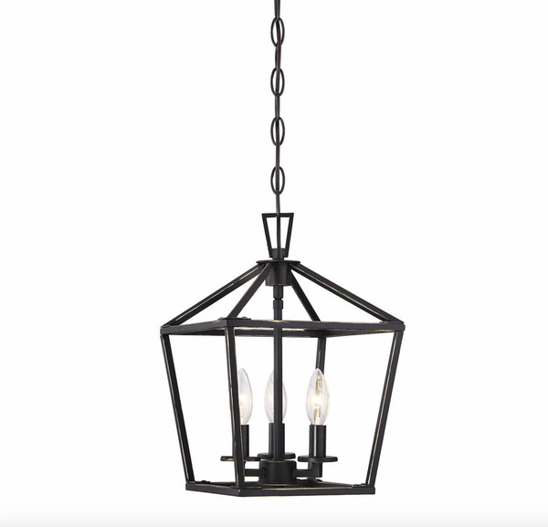 Townsend 3 Light Foyer Classic Bronze-furniture stores regina-Hunters Furniture