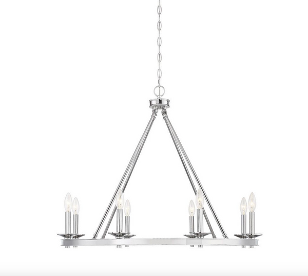 Middleton 8 Light Chandelier Polished Nickel-furniture stores regina-Hunters Furniture