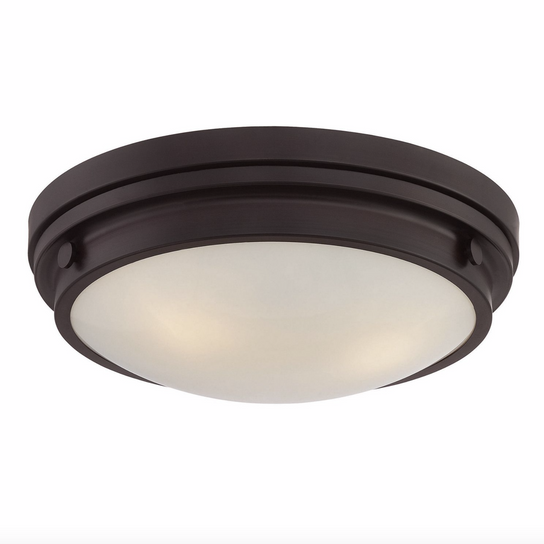 Lucerne Flush Mount English Bronze-furniture stores regina-Hunters Furniture