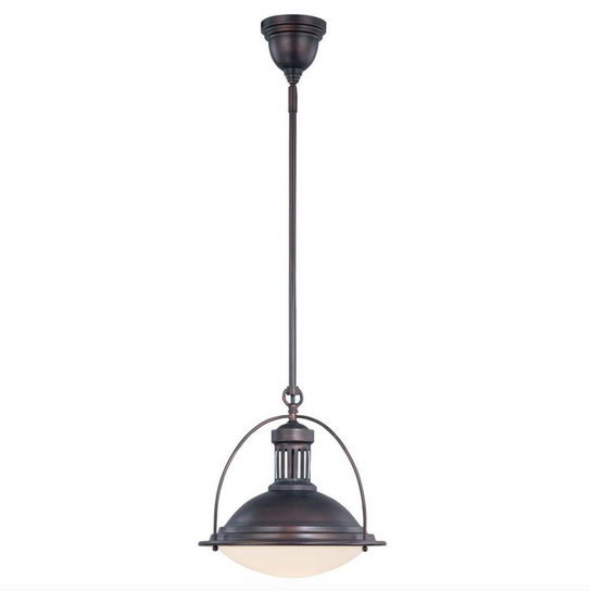 Stowe Pendant English Bronze-furniture stores regina-Hunters Furniture