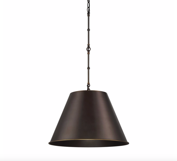 Alden 1 Light Pendant Old Bronze-furniture stores regina-Hunters Furniture