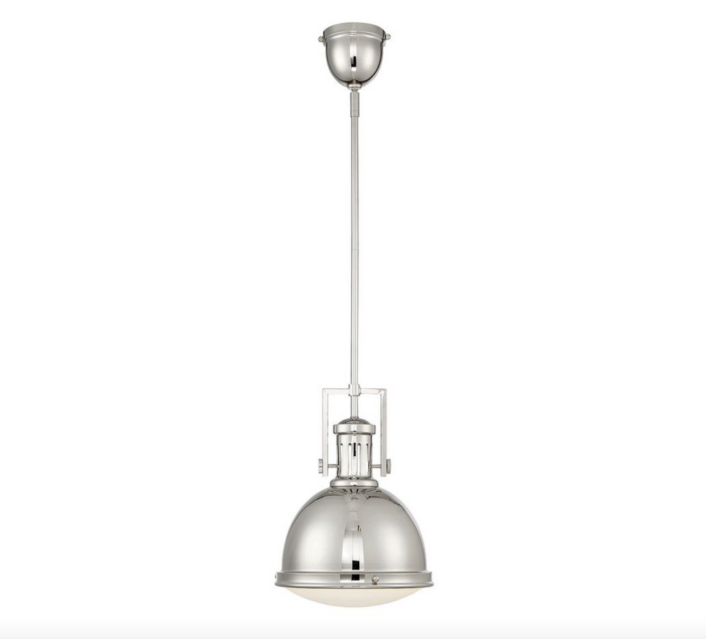 Chival Pendant Polished Nickel-furniture stores regina-Hunters Furniture