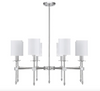 Chatham 8 Light Chandelier Polished Nickel-furniture stores regina-Hunters Furniture