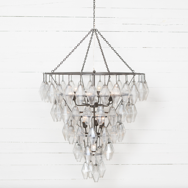 ADELINE LARGE ROUND CHANDELIER-ANT IRON-furniture stores regina-Hunters Furniture