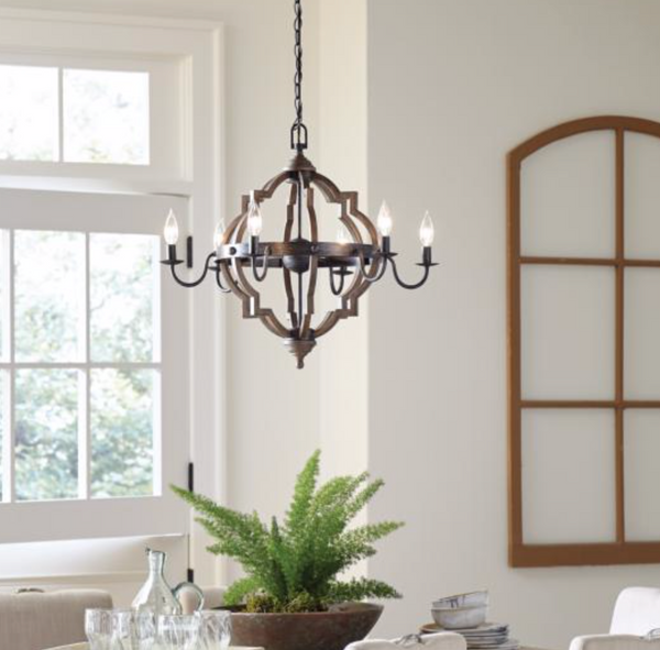Four Light Chandelier-furniture stores regina-Hunters Furniture