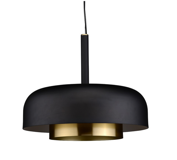 SHAYA PENDANT LIGHTING BLACK-furniture stores regina-Hunters Furniture
