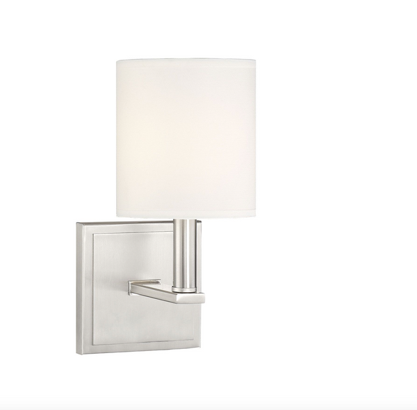 Waverly Sconce Satin Nickel-furniture stores regina-Hunters Furniture
