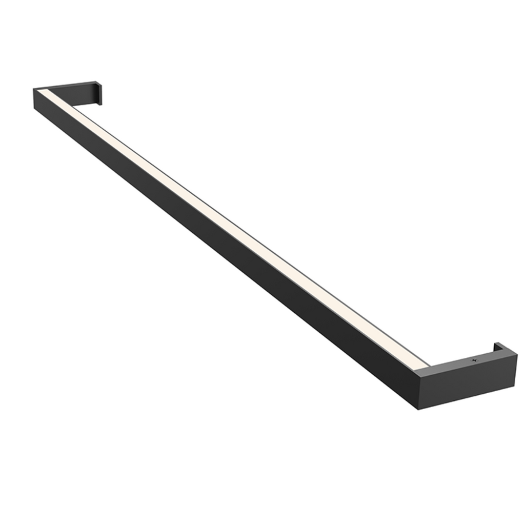 Thin-Line 3' One-Sided LED Wall Bar Satin Black-furniture stores regina-Hunters Furniture