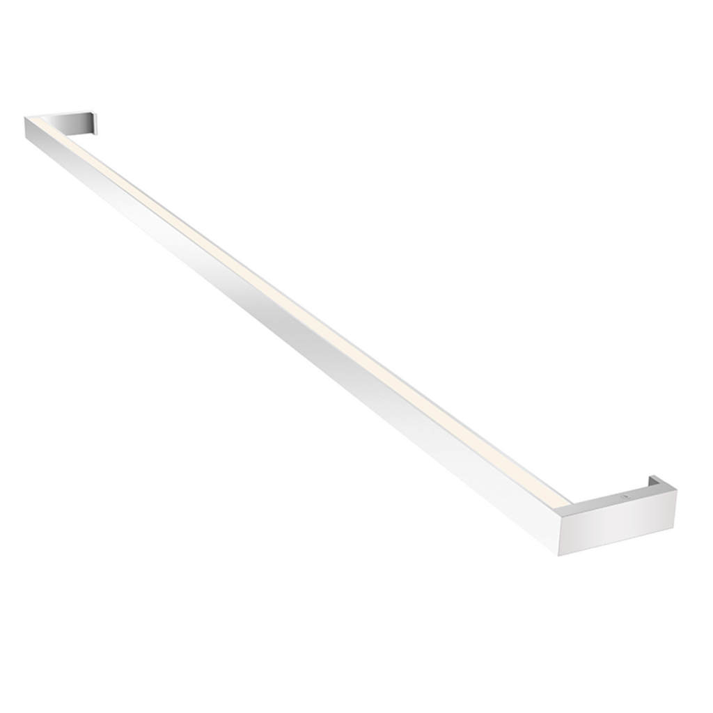 Thin-Line 4' One-Sided LED Wall Bar Bright Satin Aluminum-furniture stores regina-Hunters Furniture