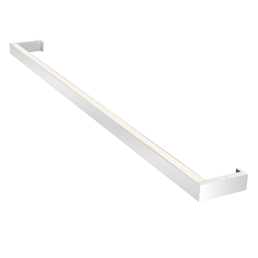 Thin-Line 3' Two-Sided LED Wall Bar Bright Satin Aluminum-furniture stores regina-Hunters Furniture