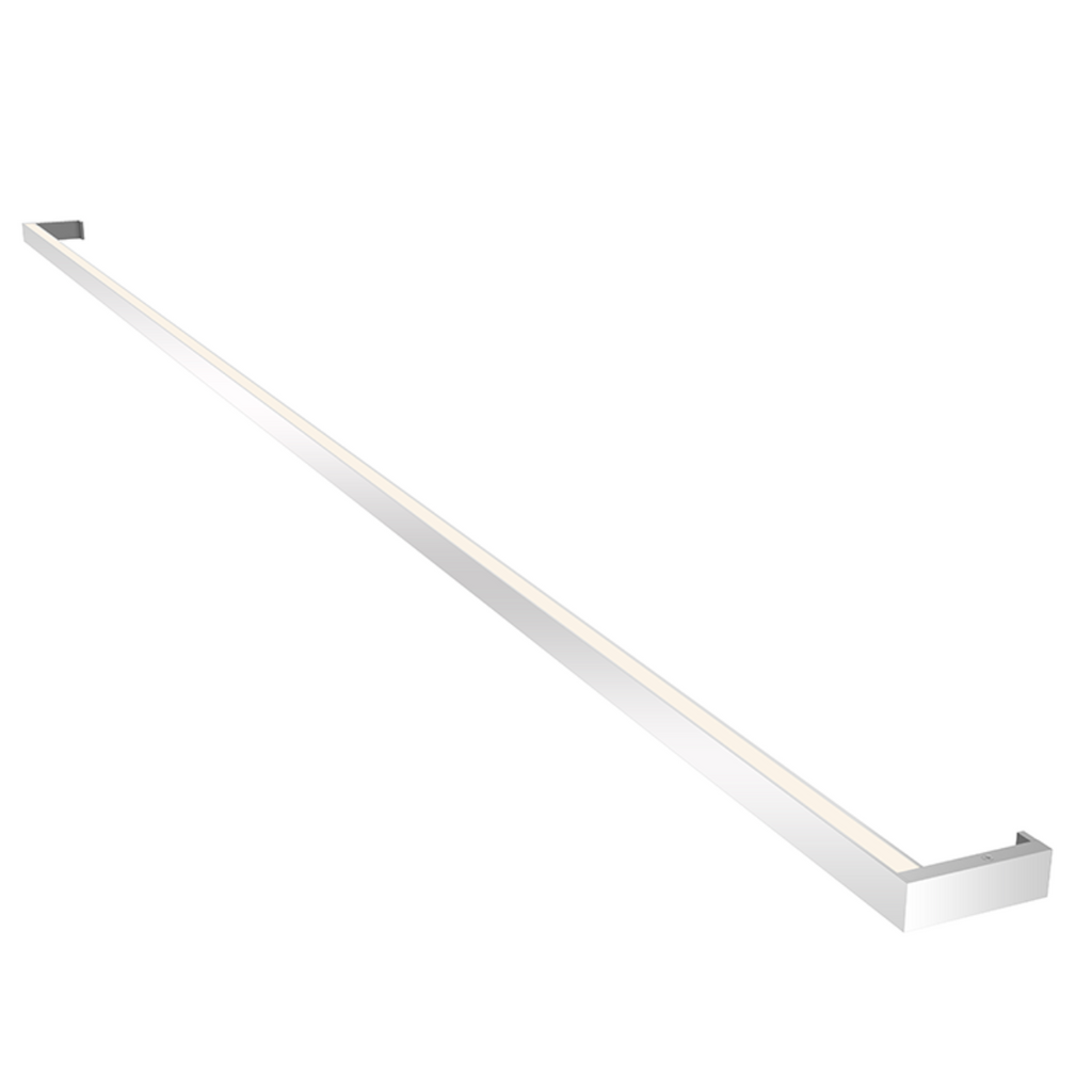 Thin-Line 8' Two-Sided LED Wall Bar Bright Satin Aluminum-furniture stores regina-Hunters Furniture