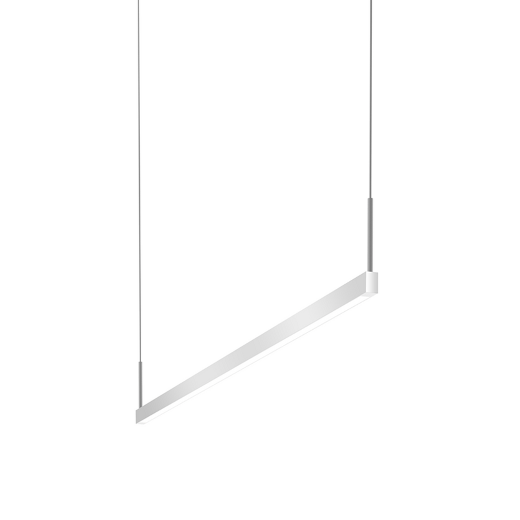 Thin-Line 4' One-Sided LED Pendant Bright Satin Aluminum-furniture stores regina-Hunters Furniture