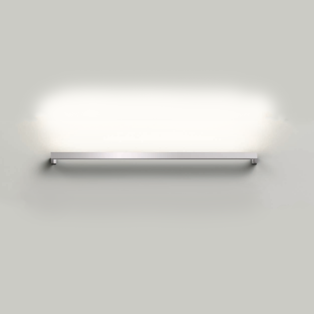 Thin-Line 3' One-Sided LED Wall Bar Bright Satin Aluminum-furniture stores regina-Hunters Furniture
