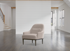 "POINT GREY Off-White Fabric - 34"" Chair-furniture stores regina-Hunters Furniture"