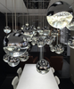 Grapes 3-Light Round Assorted LED Pendant Polished Chrome-furniture stores regina-Hunters Furniture