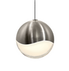 Grapes Large LED Pendant w/Micro-Dome Canopy Satin Nickel-furniture stores regina-Hunters Furniture