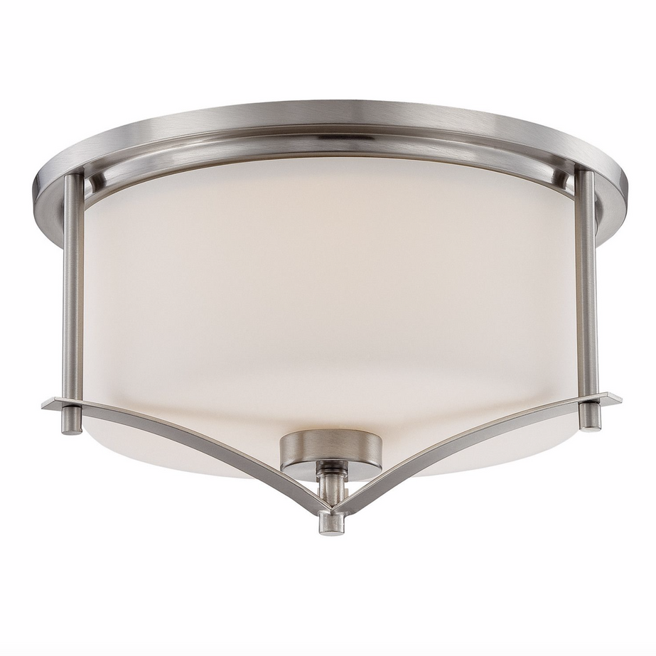 Colton Flush Mount Satin Nickel-furniture stores regina-Hunters Furniture