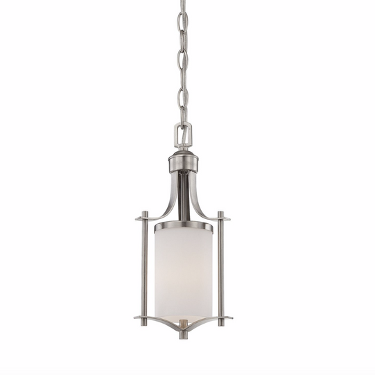Colton Mini Pendant Satin Nickel-furniture stores regina-Hunters Furniture