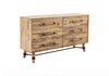 "ALTOS Light Brown Wood - 60"" Dresser-furniture stores regina-Hunters Furniture"