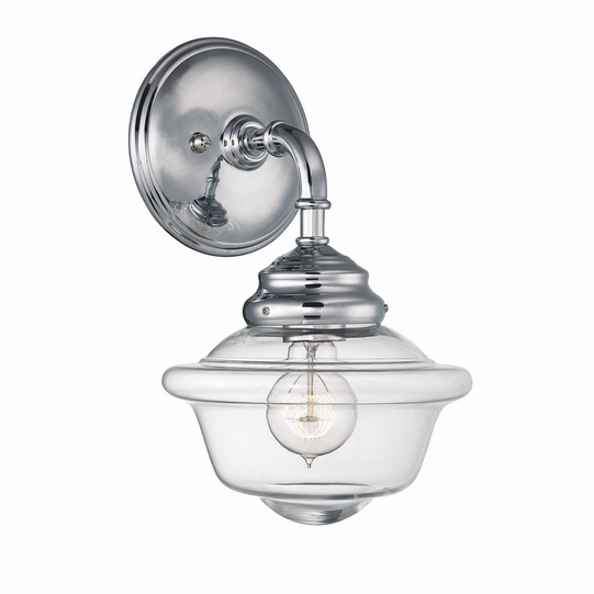 Fairfield 1 Light Sconce Chrome-furniture stores regina-Hunters Furniture