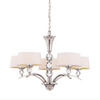 (Item Discontinued) Murren 5 Light Chandelier Polished Nickel (Display)-furniture stores regina-Hunters Furniture