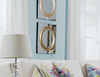 "Glass & Gold Glass - 20"" Wall Mirror-furniture stores regina-Hunters Furniture"
