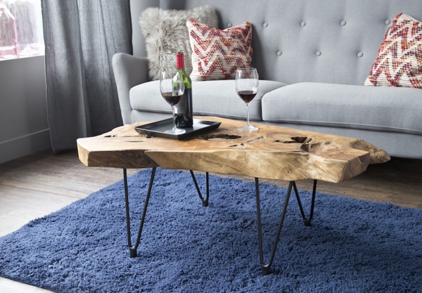 "VICTORIA UPCYCLED  - 40"" Coffee Table-furniture stores regina-Hunters Furniture"