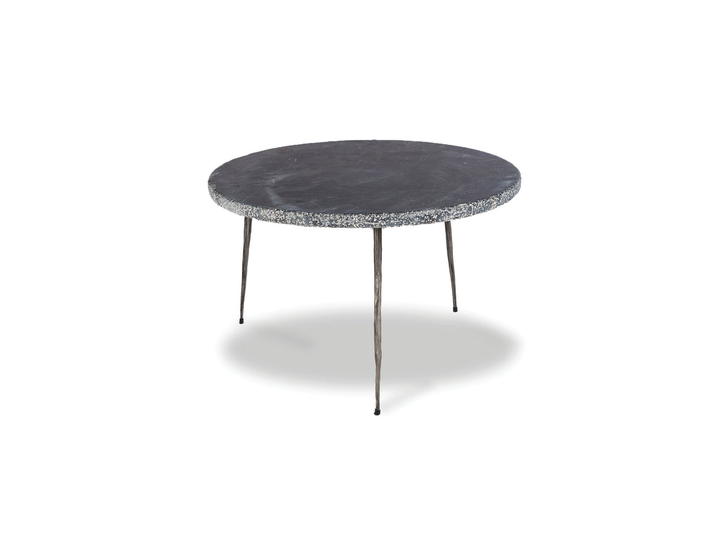 "635 Black - Low Marble - 20"" Side Table-furniture stores regina-Hunters Furniture"