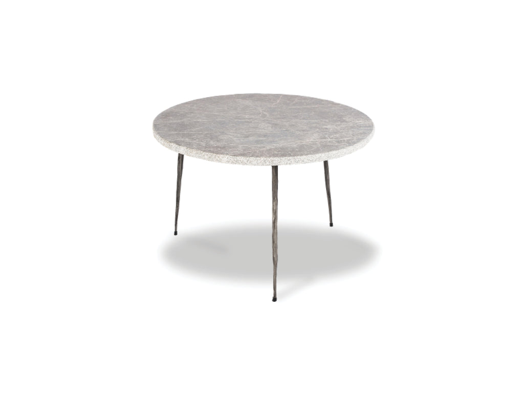"635 Grey - Low Marble - 20"" Side Table-furniture stores regina-Hunters Furniture"