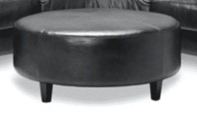 (Item Discontinued) LONDON PACIFIC CHARCOAL OTTOMAN Espresso Finish-furniture stores regina-Hunters Furniture